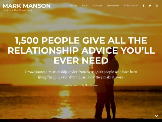Relationship Advice from Over 1,500 Happily Married Couples